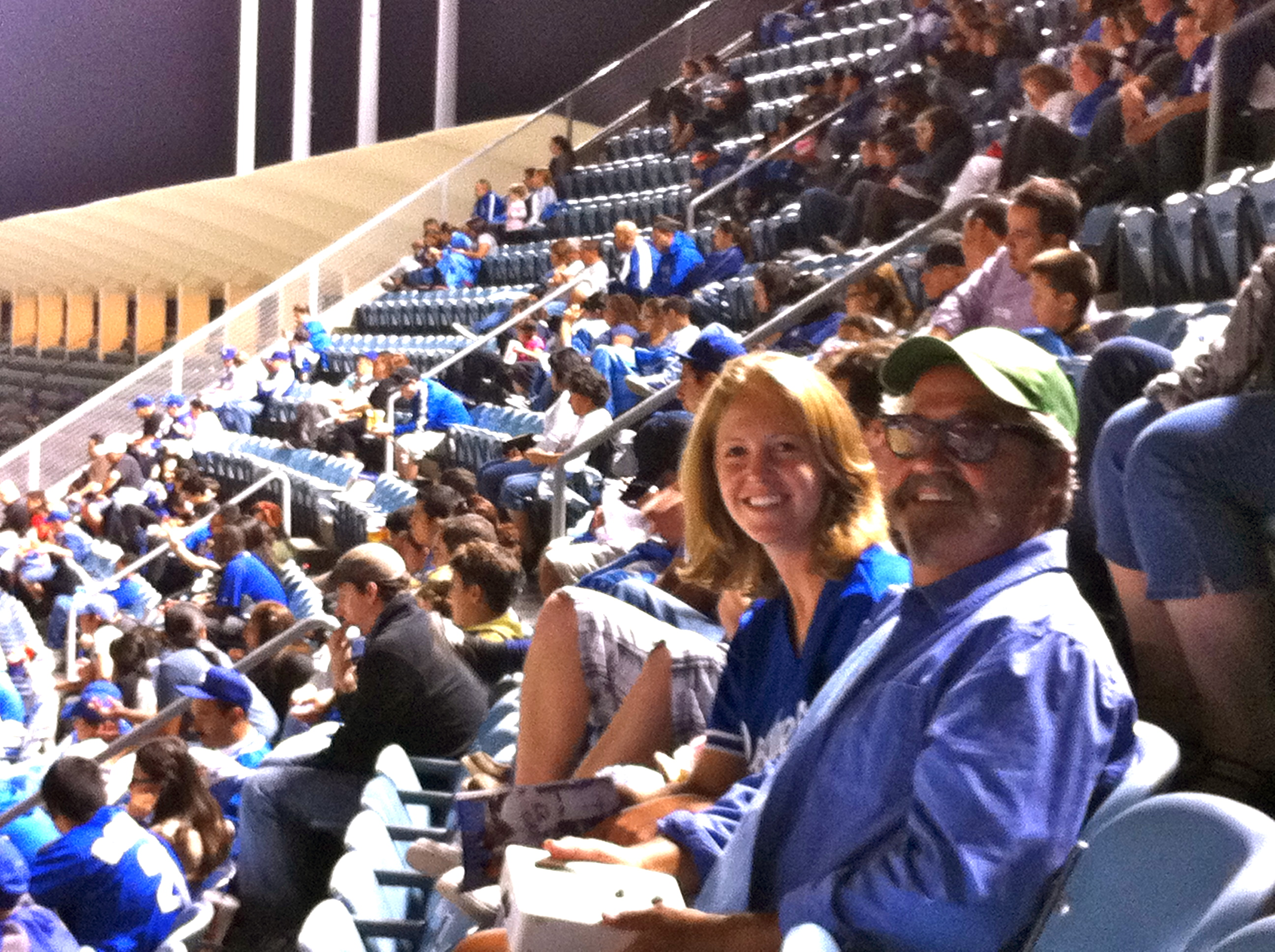 Grooving at Dodger Stadium | GrooveCentralLA