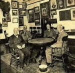 Tom Sawyer (left) at the Gotham saloon